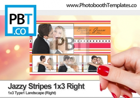 Jazzy Stripes 1x3 Right