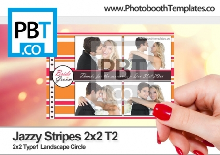 Jazzy Stripes 2x2 T2
