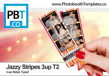 Jazzy Stripes 3up T2