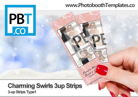 Charming Swirls 3up Strips
