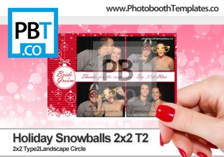 Holiday Snowballs 2x2 T2