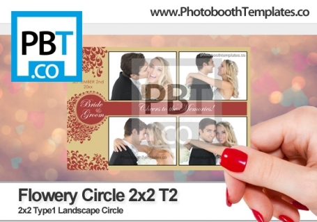 Flowery Circle 2x2 T2