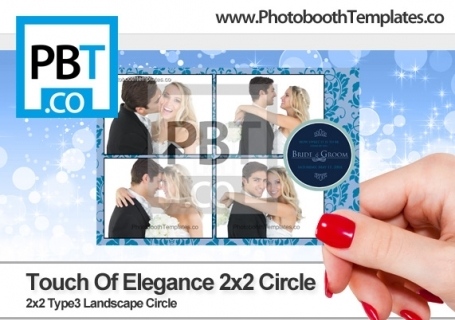 Touch of Elegance 2x2 Circle