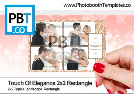 Touch of Elegance 2x2 Rectangle