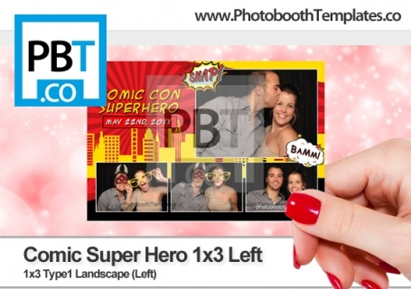 Comic Super Hero 1x3 Left