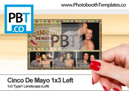 Cinco De Mayo 1x3 Left