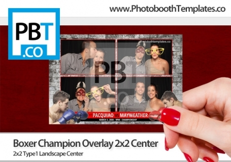 Boxer Champion Overlay 2x2 Center